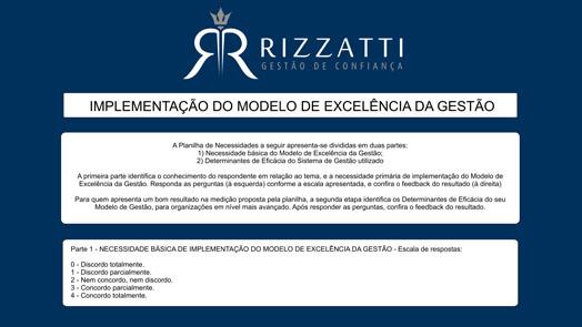 Banner formulário RIZZATTI