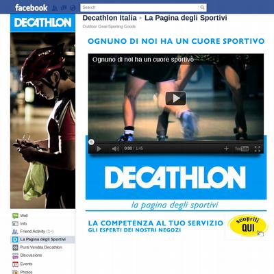 Flywheel marketing - Decathlon Itália